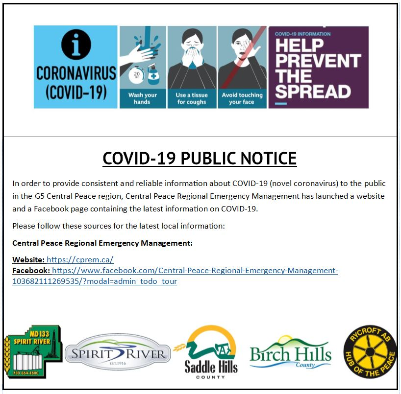 Image of COVID 19 CPREM Notice