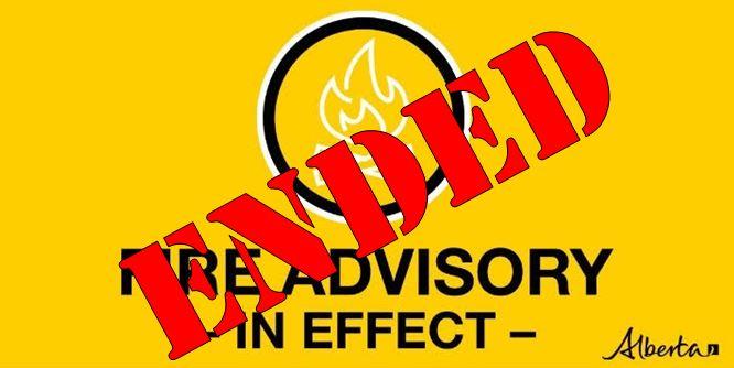 Image of Fire Advisory Notice