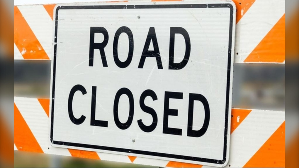 Image of Road Closed Sign