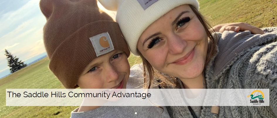 Image of girl with younger brother - SHC Community Advantage