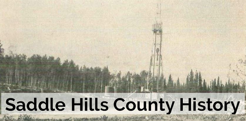 IMage of Saddle Hills Oil Exploration