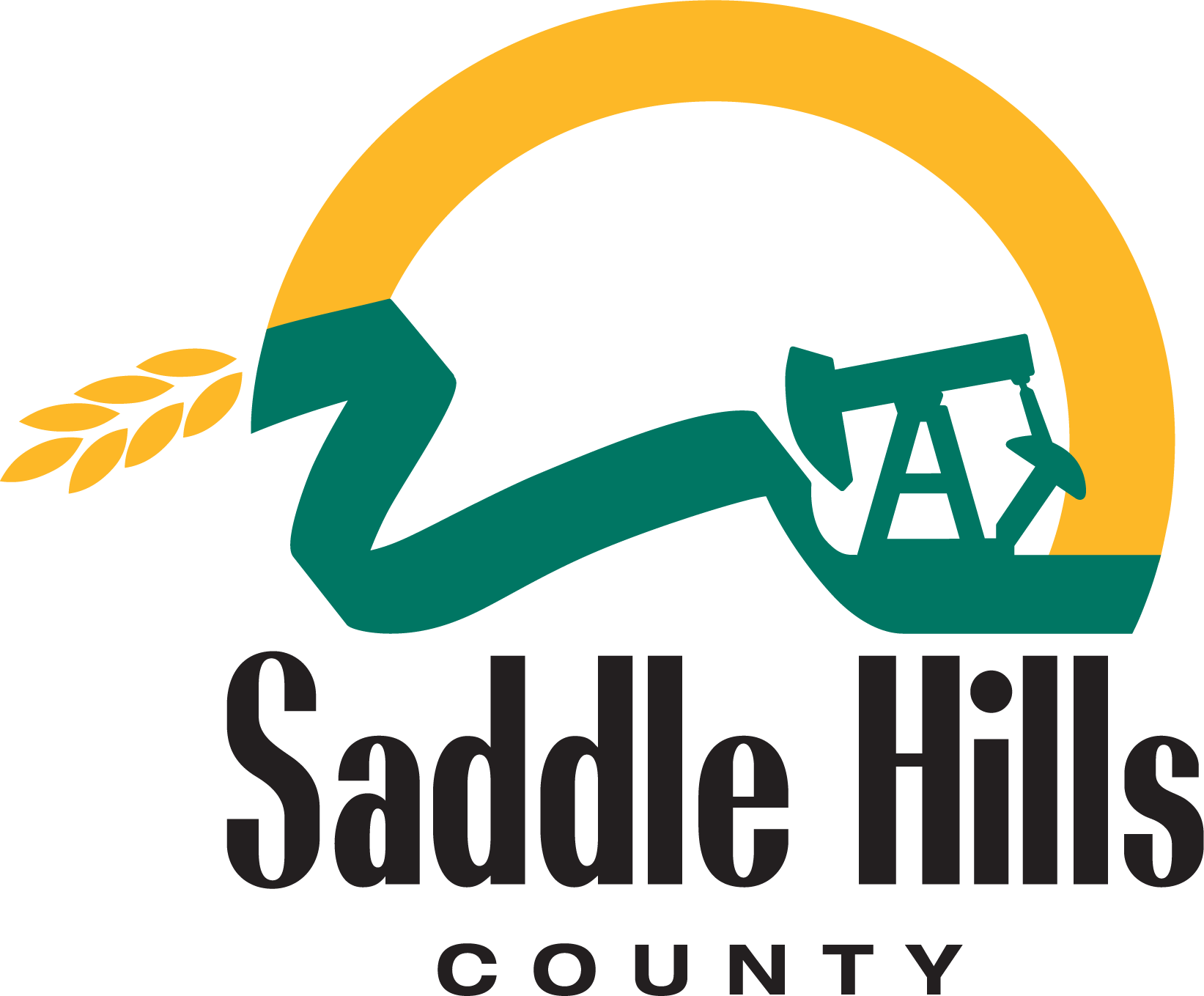 Image of Saddle Hills County logo